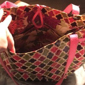 Vera Bradley Bags - Hello Dahlia frill Vera Bradley bag purse